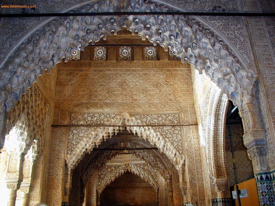 Salón de los Reyes. Alhambra de Granada.