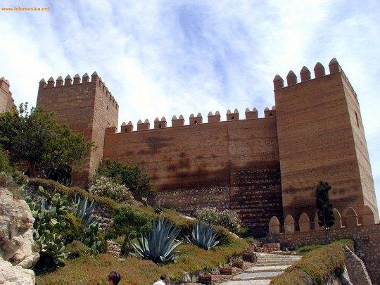 Entrada a la Alcazaba de Almería.
