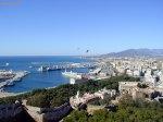 Málaga desde Gibralfaro.